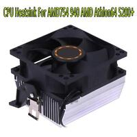 3pin Silent CPU Cooling Fan Heatsink Radiator Cooler for AMD754 940 AMD Athlon64