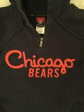 NFL Chicago Bears Classic Reebok  Sweatshirt /Hoodie Embroidered  -Size M