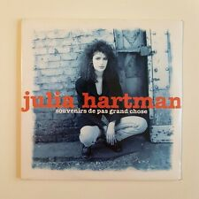 JULIA HARTMAN : SOUVENIRS DE PAS GRAND CHOSE ♦ Neuf CD Single ♦