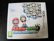 jeux nintendo 3DS  Mario & Luigi Dream Team Bros