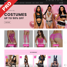 Professional Dropshipping Store | SEXY LINGERIE | Profitable Website Business