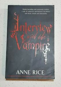 Interview with the Vampire by Anne Rice Vampire Chronicles Book #1 Med Paperback