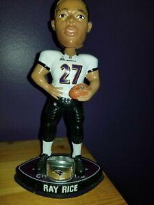 Ray Rice Baltimore Ravens SB 47 XLVII Bobblehead FOCO Bobblehead 1952/5000 NFL