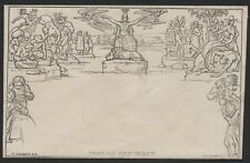 1840 1d MULREADY ENVELOPE UNUSUED STEREO No A180