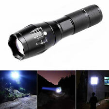 Waterproof 8000LM XML T6 LED Flashlight Zoomable 18650 / AAA Tactical Lamp Torch