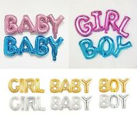 1 Pc BOY GIRL Foil Balloon OH BABY Wild ONE Baby Shower Birthday Party Decor US