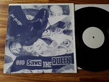 """SEX PISTOLS - God Save The Queen - A&M Test Pressing 4 track 12"""" + poster RARE!!"""