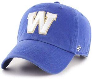 Men's Team Colour CFL Football Clean Up '47 Brand Buckle Adjustable Hat Cap