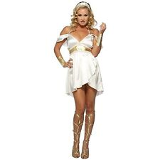 Sexy Adult Women's Alluring Aphrodite Halloween Costume Fancy Dress Large NEW!