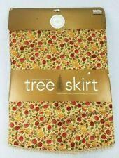 """New! - Martha Stewart - 52"""" - Christmas Tree Skirt - Golden Luster - 2002"""