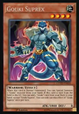 GOUKI SUPREX - (COTD-EN010) - Rare - 1st Edition - Yu-Gi-Oh Code of the Duelist