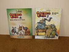 2 Albums bande dessinée BD - CARMEN CRU (1 et 2) - FLUIDE GLACIAL - 2008