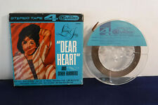 Living Jazz, Dear Heart & Other Faves, RCA Camden CTR 878, 4 track 7.5 IPS Reel