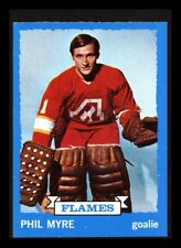 "1973-74 TOPPS ""PHIL MYRE"" ATLANTA FLAMES #77 NEAR MINT+ (COMBINED SHIP)"