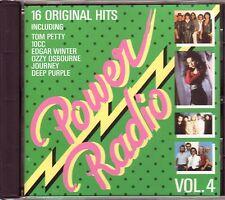 VARIOUS – Power Radio Vol.4 (Sony Music – Germany) BOSTON, KANSAS, AMERICA