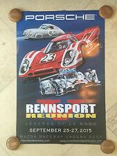 Porsche Original Factory Poster-Rennsport Reunion V-Future Classic!