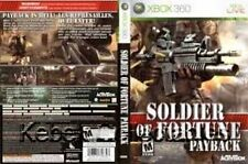 Soldier of Fortune: Payback (Xbox 360) Replacement Case--NO GAME INCLUDED