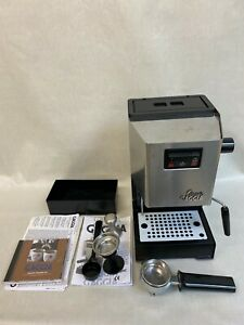 Gaggia Classic Espresso Coffee Machine 2004 Made in Italy Extras Instructions