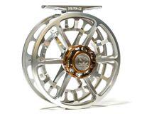 Ross Evolution LTX Fly Reel - Size 4/5 - Color Platinum - NEW - FREE FLY LINE