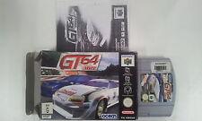 GT 64 Championship Edition Nintendo 64 N64 Boxed PAL Version
