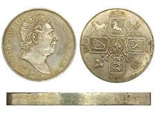 Laureate Bust 1820 GEORGIVS III DEI GRATIA Crown HONI SOIT QUI MAL Y PENSE