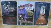 Cassette Tape Lot CHARLIE DANIELS BAND Decade Of Hits The Door Sweet Sound  x3