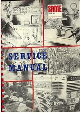 SAME TRACTOR SATURNO LEOPARD PANTHER SERVICE MANUAL