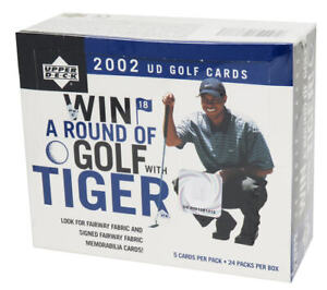 2002 Upper Deck Golf Green Grass Edition Factory Sealed Box (Mickelson RC?)