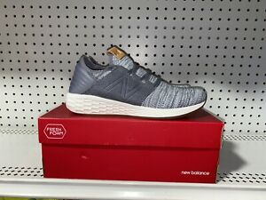 New Balance Fresh Foam Cruz V2 Knit Mens Athletic Running Shoes Size 8 Gray