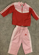 Baby Girls Adidas Tracksuit Outfit 3-6 Months