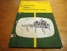John Deere 100i Integral Chisel Plow Operators Owners Manual Jd Oem