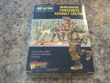Hungarian Parachute Assault section WWII Bolt Action Games Model New!