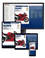 Triumph 675 Daytona & Street Triple (2006-2016) Haynes Online Manual