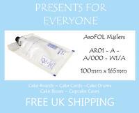 200 x AroFOL White Kraft AR01 JL000 Bubble Lined Padded Mailing Envelopes Bags