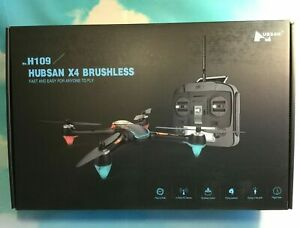 Hubsan X4 H109 Brushless Quadcopter Drone Long Flight Time H2000 Transmitter RTF