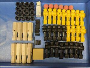 Tornado Foosball Ultimate Rebuild Kit !!  - Men, balls, handles, tools and more!
