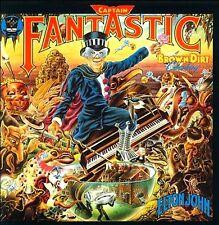 RARE CD MINI LP VINYL REPLICA + ELTON JOHN  CAPTAIN FANTASTIC AND THE BROWN DIRT