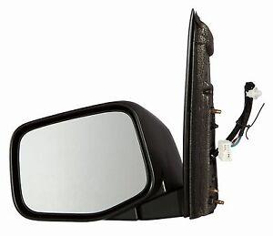 2011-2014 Honda Odyssey EX EXL Driver Side Textured Power Heat no-signal Mirror