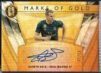 GOLD STANDARD SOCCER 2019-2020 ☆ MARKS OF GOLD ☆ Gareth Bale - Real Madrid #/10