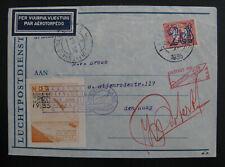 NL Raketenpost Poolster P 12, Katwijk Aan Zee 24.1.1935 (Unterschrift Roberti)