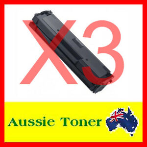 3x MLT-D111S Toner Cartridge for Samsung SL-M2020 SL-M2020W SL-M2070 SL-M2070FW