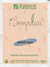 Phitofilos Hennè Nero puro Indigofera tinctoria Henne polvere Arte d'Erbe 100g