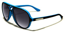 Sunglasses Aviator Sport Designer Shades Biohazard Men Women Black Blue BZ136G