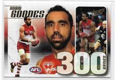 2012 Champions 300 Game Case Card (CC42) Adam GOODES Sydney # 105