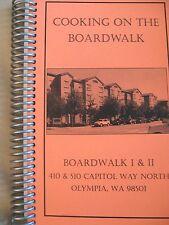 NEW Boardwalk I & II Cookbook Olympia, Washington