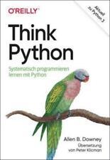Think Python-Systematisch programmieren lernen mit Python-Mängelexemplar, gut