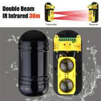 4 CH Pro Dual Waterproof Infrared  Barrier Beam Detector IR Alarm Sensor Outdoor