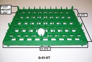 3-Quail Egg Trays-95 New World Quail Eggs Storage Tray Incubator Egg Tray Q95ST