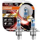 OSRAM H4 H7 NIGHT BREAKER LASER 200 NEXT GENERATION 200% mehr HELLIGKEIT LICHT
