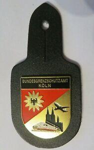BUNDESGRENZSCHUTZAMT KÖLN Polizei BGS Abzeichen Badge BrustAbzeichen Anhänger BA